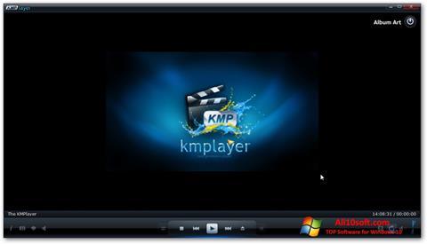 Zrzut ekranu KMPlayer na Windows 10
