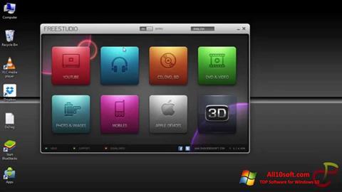 Zrzut ekranu Free Studio na Windows 10