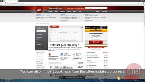 Zrzut ekranu Comodo Dragon na Windows 10
